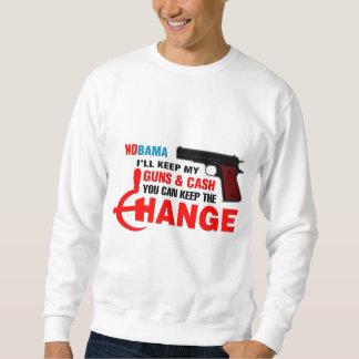 ¡Nobama - guarde el cambio! Sudadera