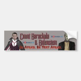 Nobama Halloween-Barackula & Biden Bumper Sticker