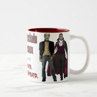 Nobama Halloween - Barackula & Bidenstein Mug