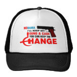 NoBama Ill keep  my guns&cash, you keep the change Trucker Hat