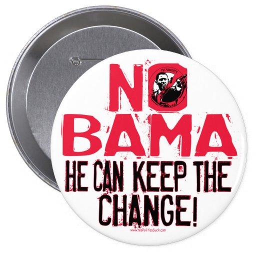 Nobama Keep the Change Button