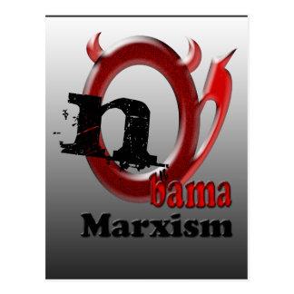 Nobama Marxism Postcard
