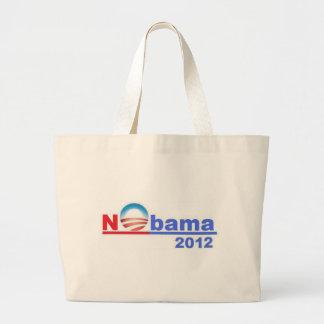 Nobama - ningún Obama 2012 Bolsa De Mano