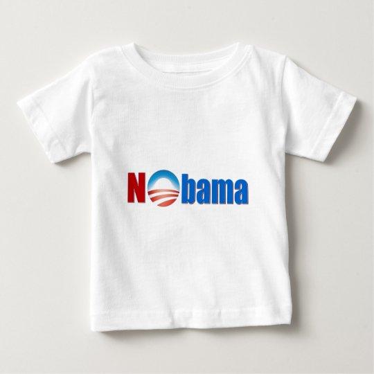 Nobama - ningún Obama Playera De Bebé