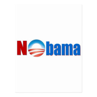 Nobama - ningún Obama Postal