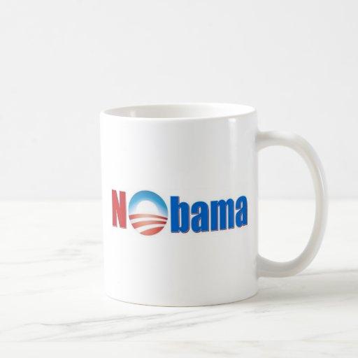 Nobama - ningún Obama Tazas De Café