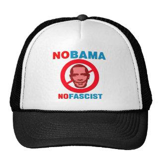 NOBAMA / NOFASCIST (v126x) Trucker Hat