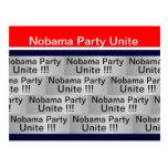 Nobama Party Unite Postcard