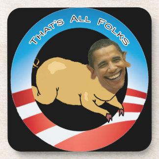 Nobama Pork and Spend Liberal Coasters