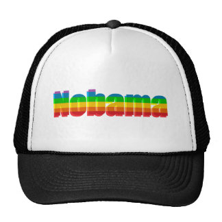 Nobama Rainbow Political Gifts Trucker Hat