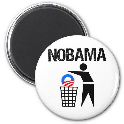 NoBama Refrigerator Magnets