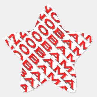 Nobama Star Sticker