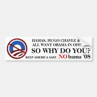 NObama Terrorists Bumper Stickers