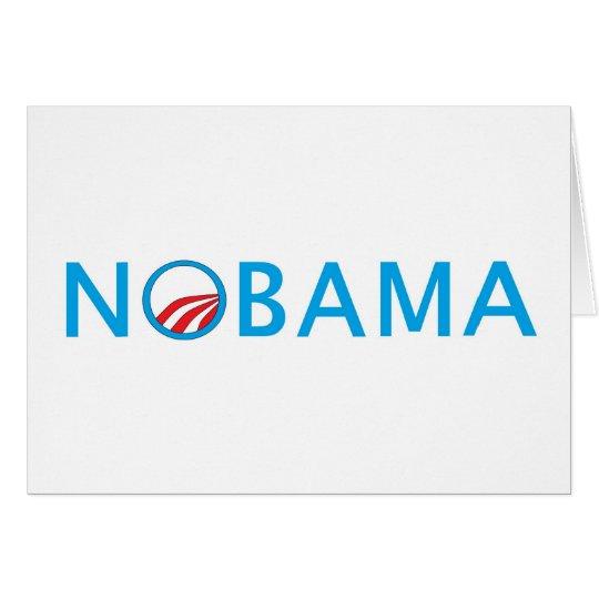 Nobama Top Seliing Political Gear Card