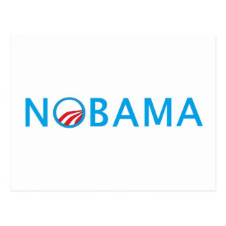 Nobama Top Seliing Political Gear Postcard