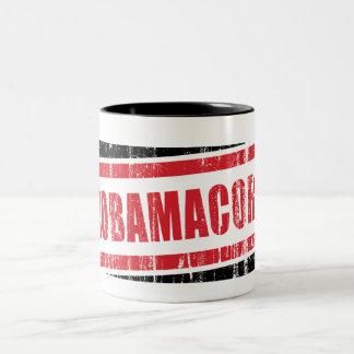 Nobamacorn Two-Tone Coffee Mug