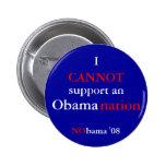 NObamaNation Pinback Buttons