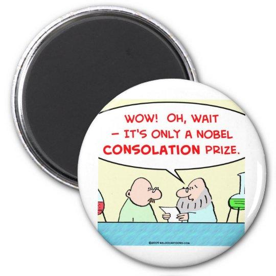 nobel consolation prize scientists laboratory magnet