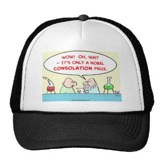 nobel consolation prize scientists laboratory trucker hat