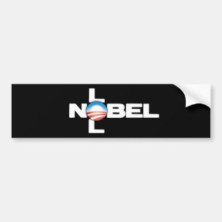 Nobel LOL Bumper Sticker