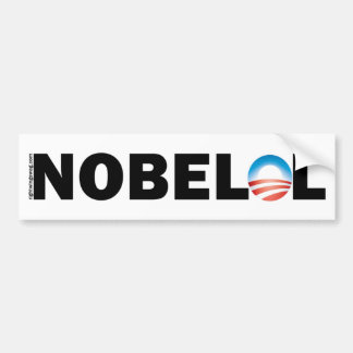 Nobel LOL NOBELOL Car Bumper Sticker