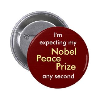 Nobel Peace Prize Button
