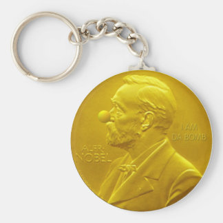 Nobel Peace Prize Keychain