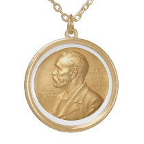 Nobel Peace Prize Necklace