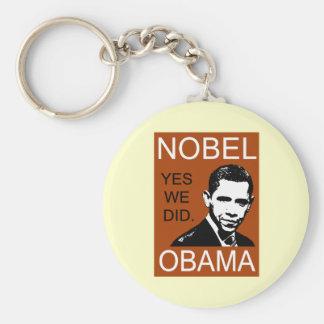 Nobel Peace Prize Obama Keychain