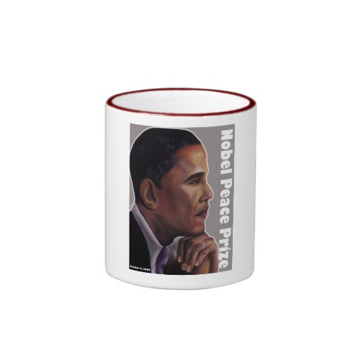 Nobel Peace Prize Ringer Coffee Mug