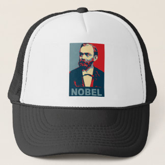 Nobel peace prize trucker hat