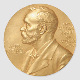 Nobel Prize Sticker