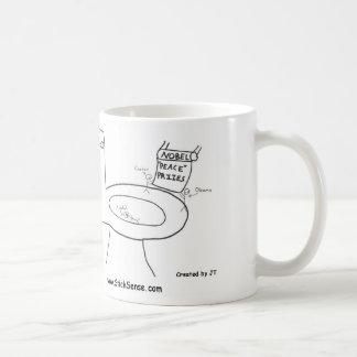 Nobel Prize Toilet-Paper Mug (Left-Handed)