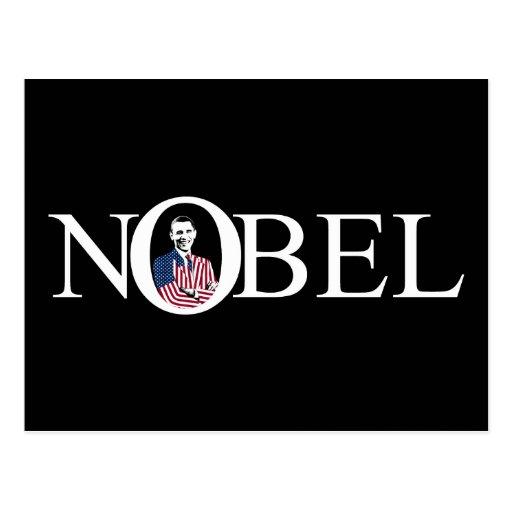 Nobel Prize Winner -- Barack Obama Postcard