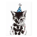Nobigao Birthday Cat Postcard