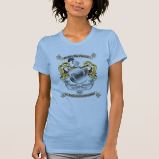 Nobility By Choice Occupy Crest Blue Womens Tshirts