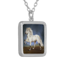 Nobility Silver Plated Necklace