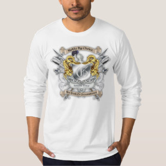 Noble by Choice Monogram Knights Sword Crest Long Shirt