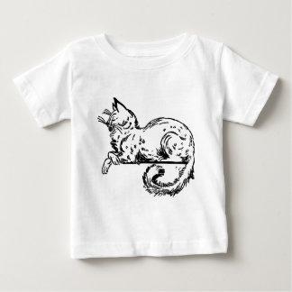 Noble Cat Sitting On Ledge Baby T-Shirt