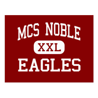 Noble del MCS - Eagles - centro - Wilmington Tarjetas Postales