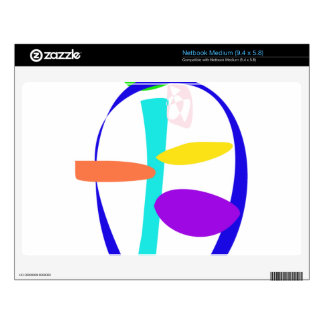 Noble Face Decal For Netbook