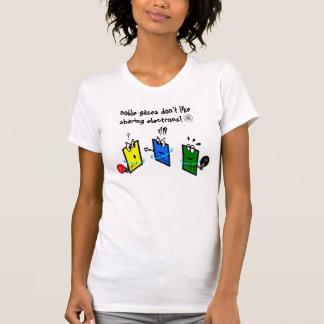 noble gases don't like sharing electrons camiseta
