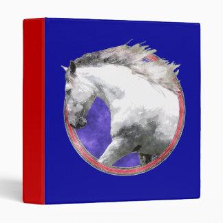 "NOBLE HORSE 1"" Ring Binder"