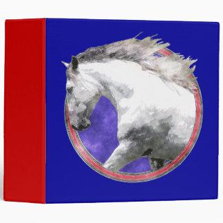"NOBLE HORSE 2"" Ring Binder"