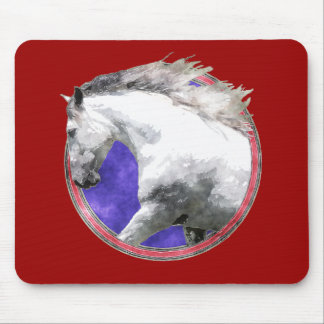 NOBLE HORSE MOUSE PAD