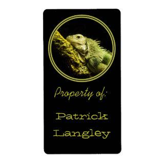 Noble Iguana Bookplates