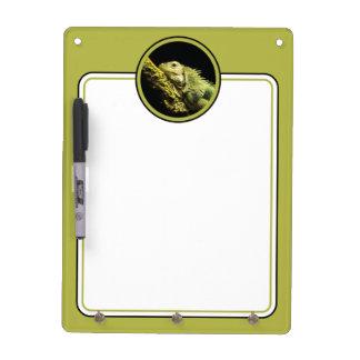 Noble Iguana Dry Erase Board