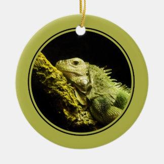 Noble Iguana Ornament
