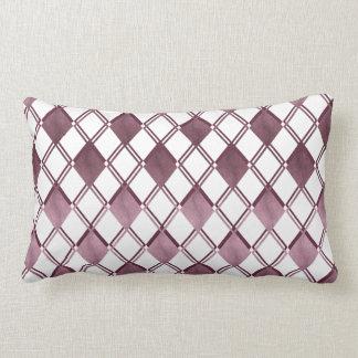 Noble Karo motive Zierkissen Lumbar Pillow