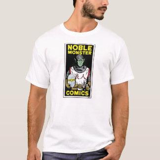 Noble Monster Comics Logo Basic Men's T-Shirt